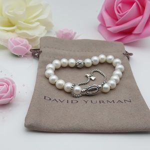 David Yurman Beads Bracelet with Pearl